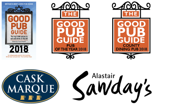 The King's Head Inn, Bledington, The Cotswolds - Good Pub Guide, Pub Of The Year 2018